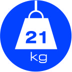 21 kg weight