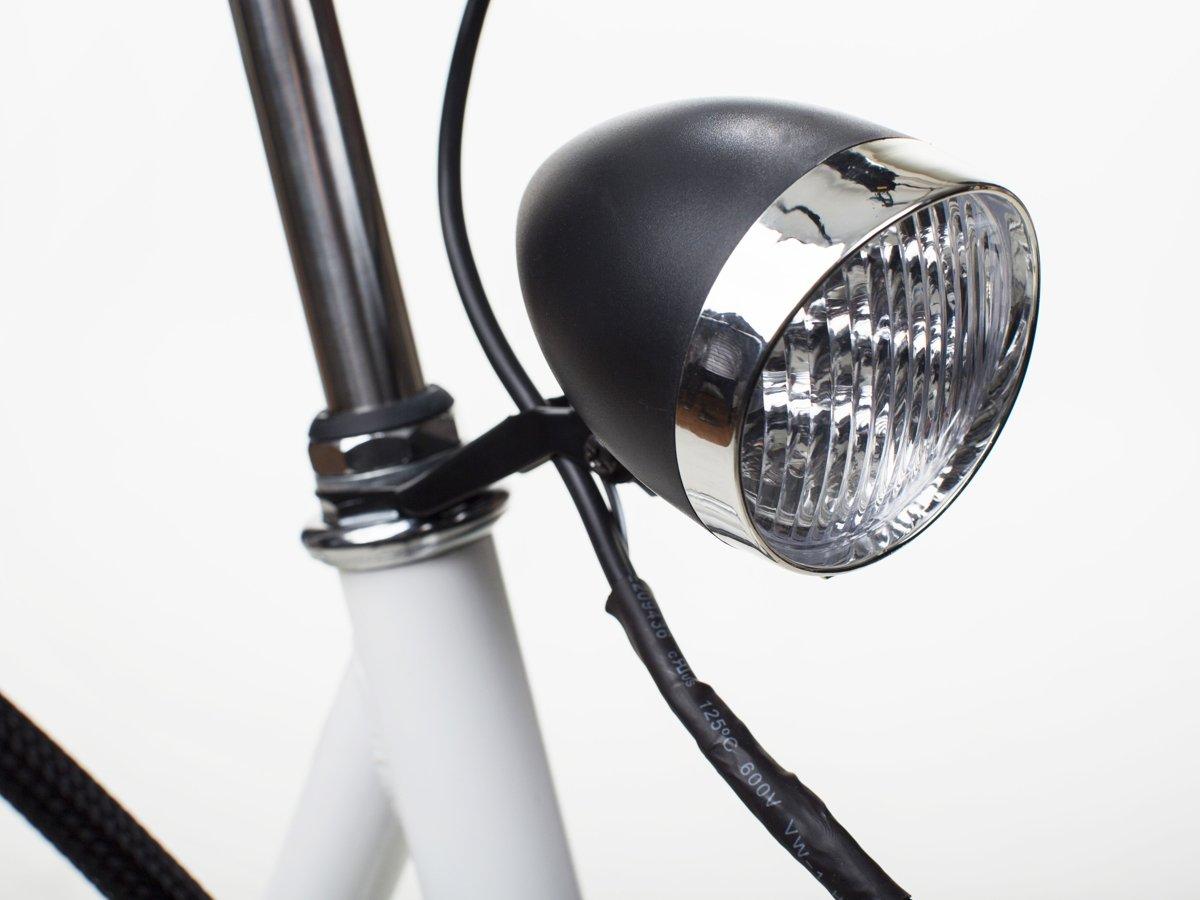 Rower Elektryczny Miejski Geobike Amsterdam Biały Geobike Rowery
