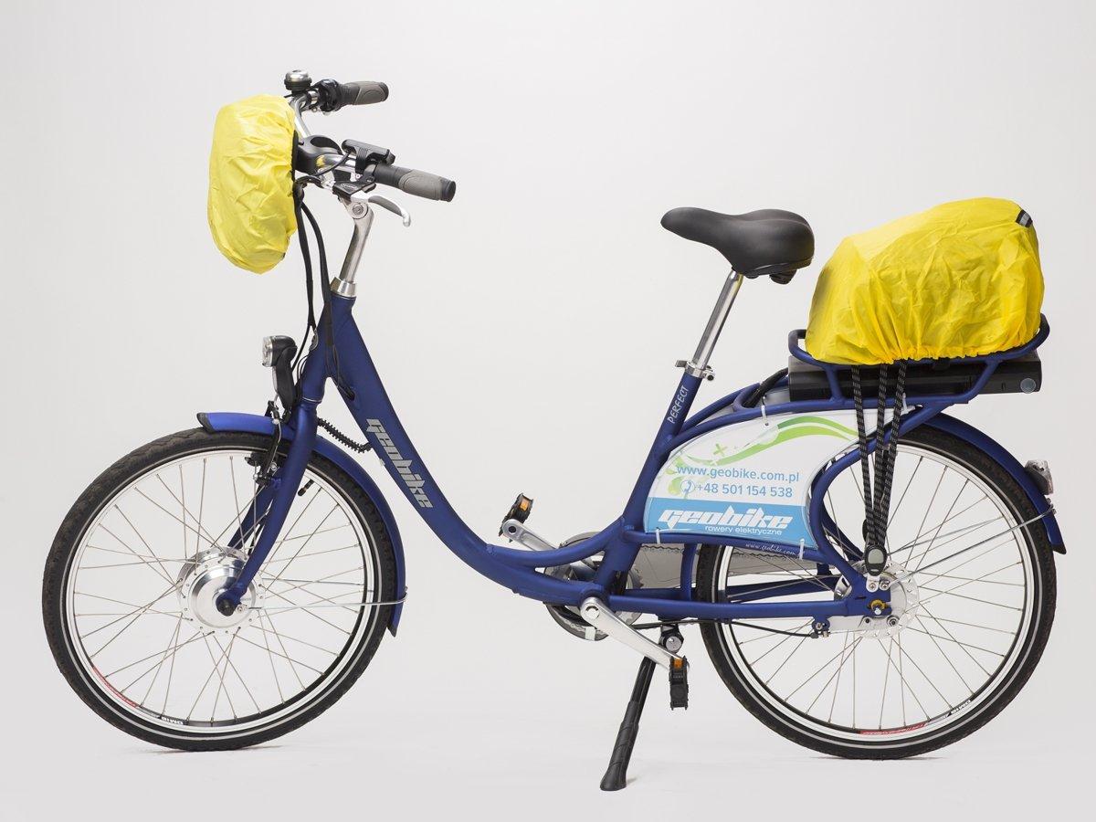 30317ece9e200 torba na kierownicę e-Bike CITY czerwona ...