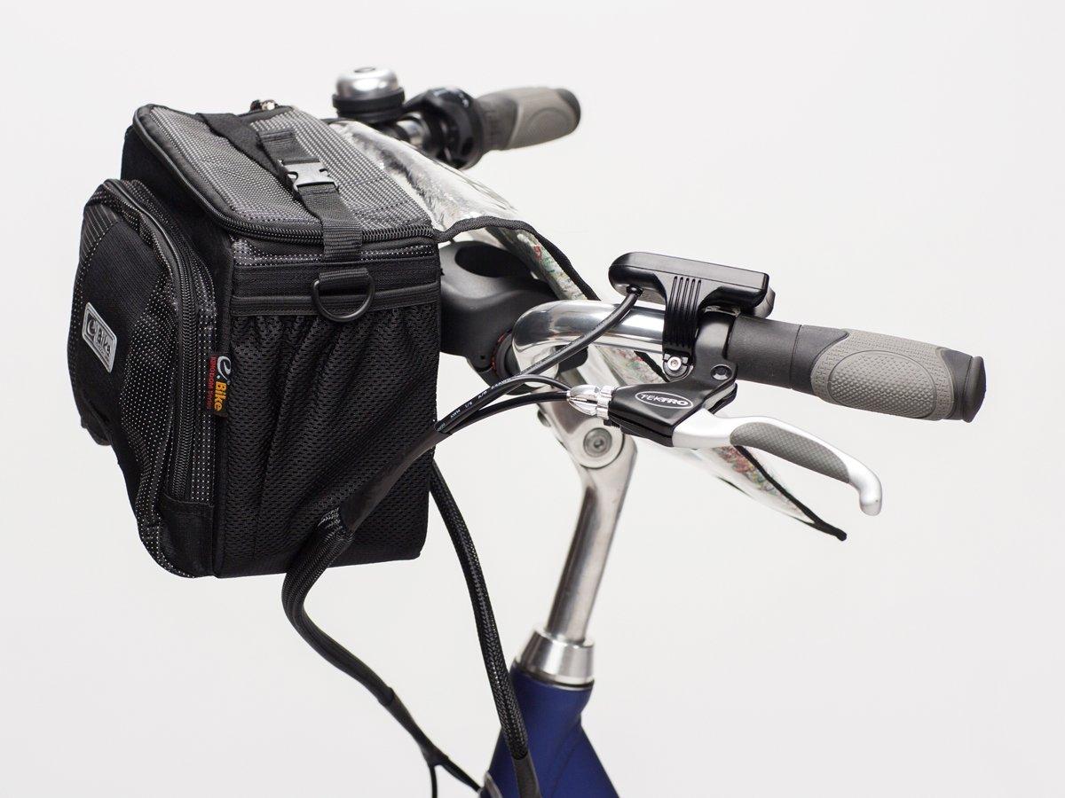 0659753342c9a ... torba na kierownicę e-Bike NORDKAPP czarna ...