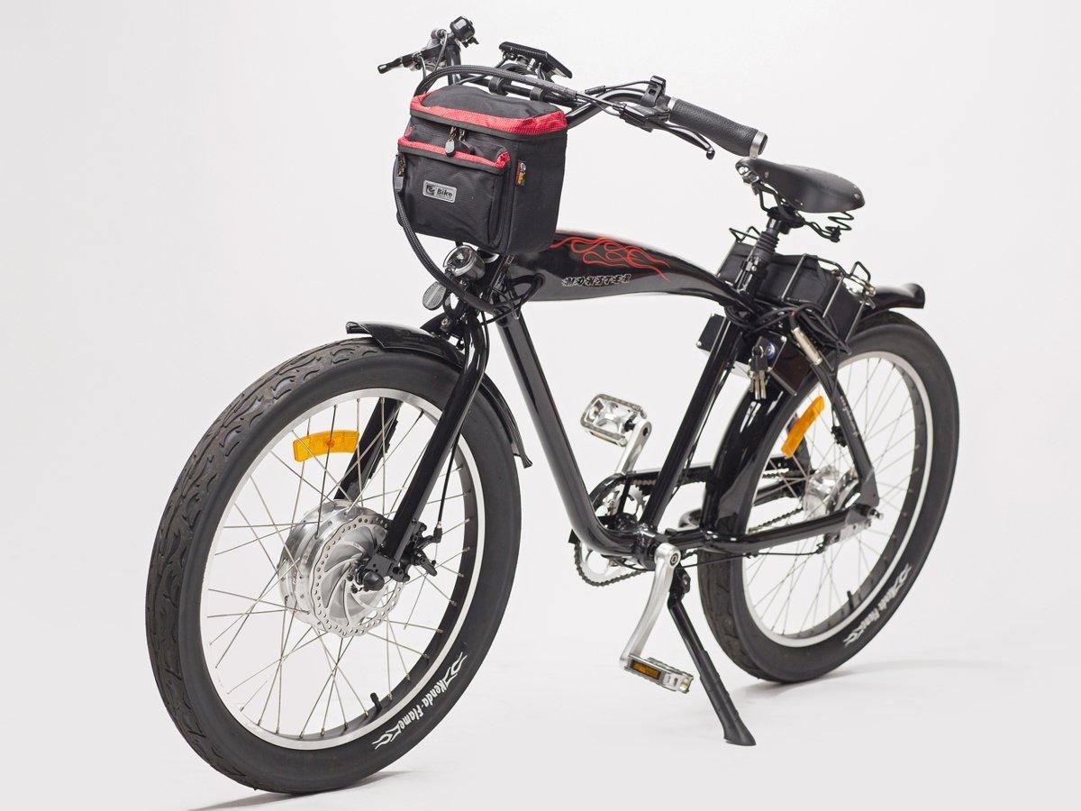 00e12b152d34c ... torba na kierownicę e-Bike czerwona ...