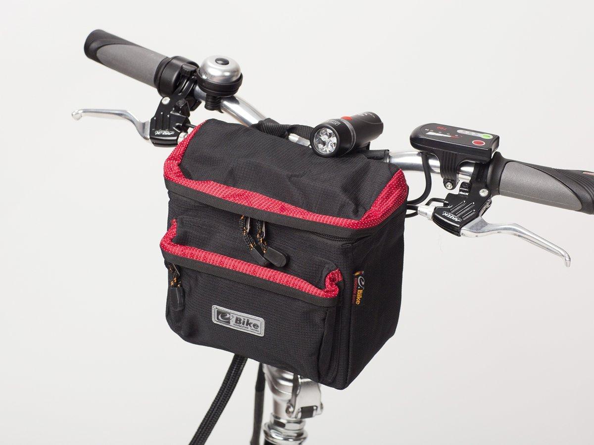 2211b0d236923 torba na kierownicę e-Bike czerwona ...