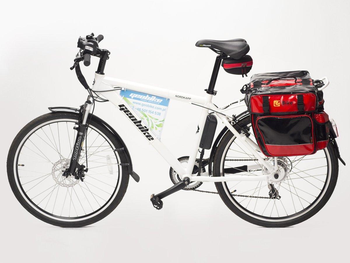 e3bb6c7ff0b03 torba pod siodło e-Bike RACING czarno-czerwona ...